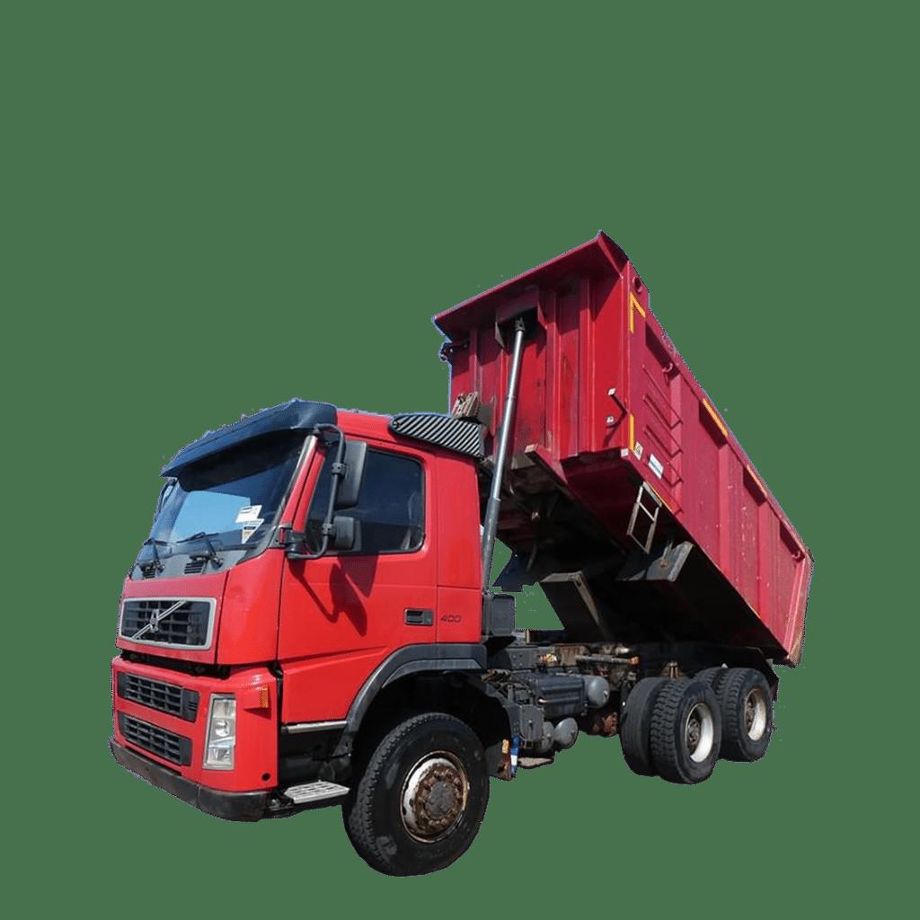 VOLVO 3-stranný sklápač 6x6, 12t - 2 ks