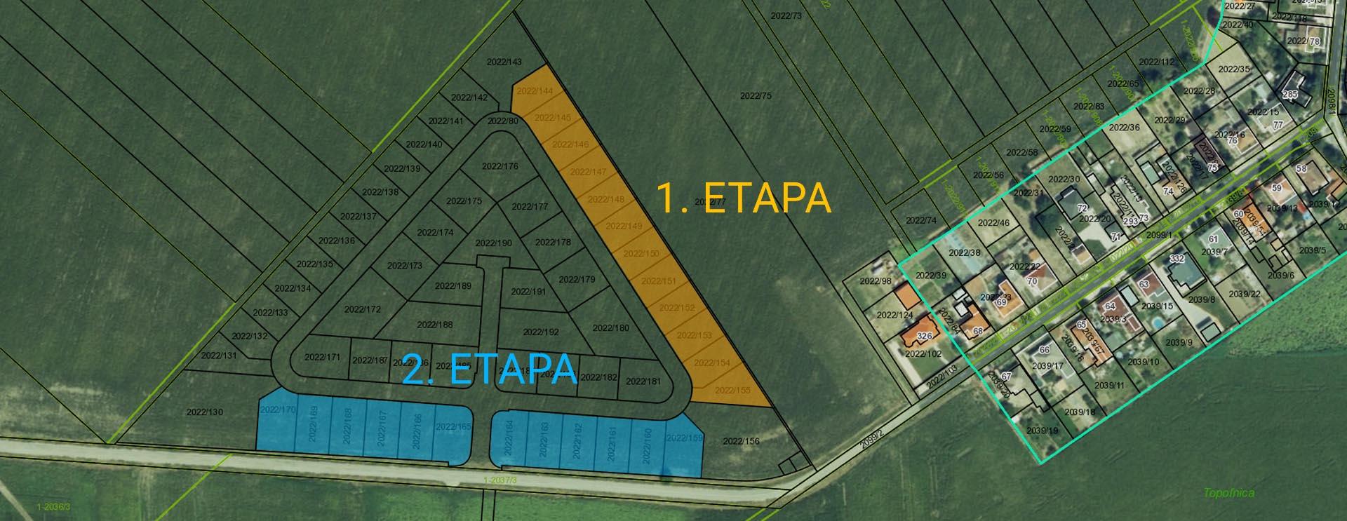 katastralna mapa ETAPY2